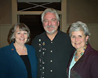 Dr. Ivan Misner with the Two Grannies